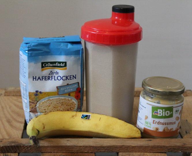 Shake für veganen Muskelaufbau