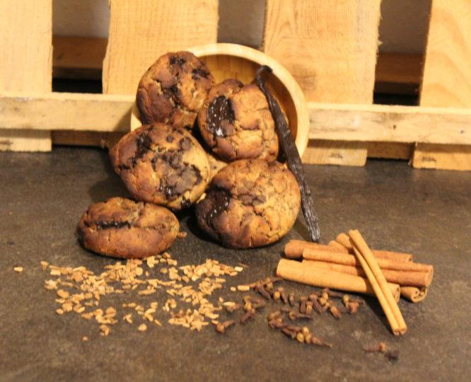 Gesunde Schoko Cookies