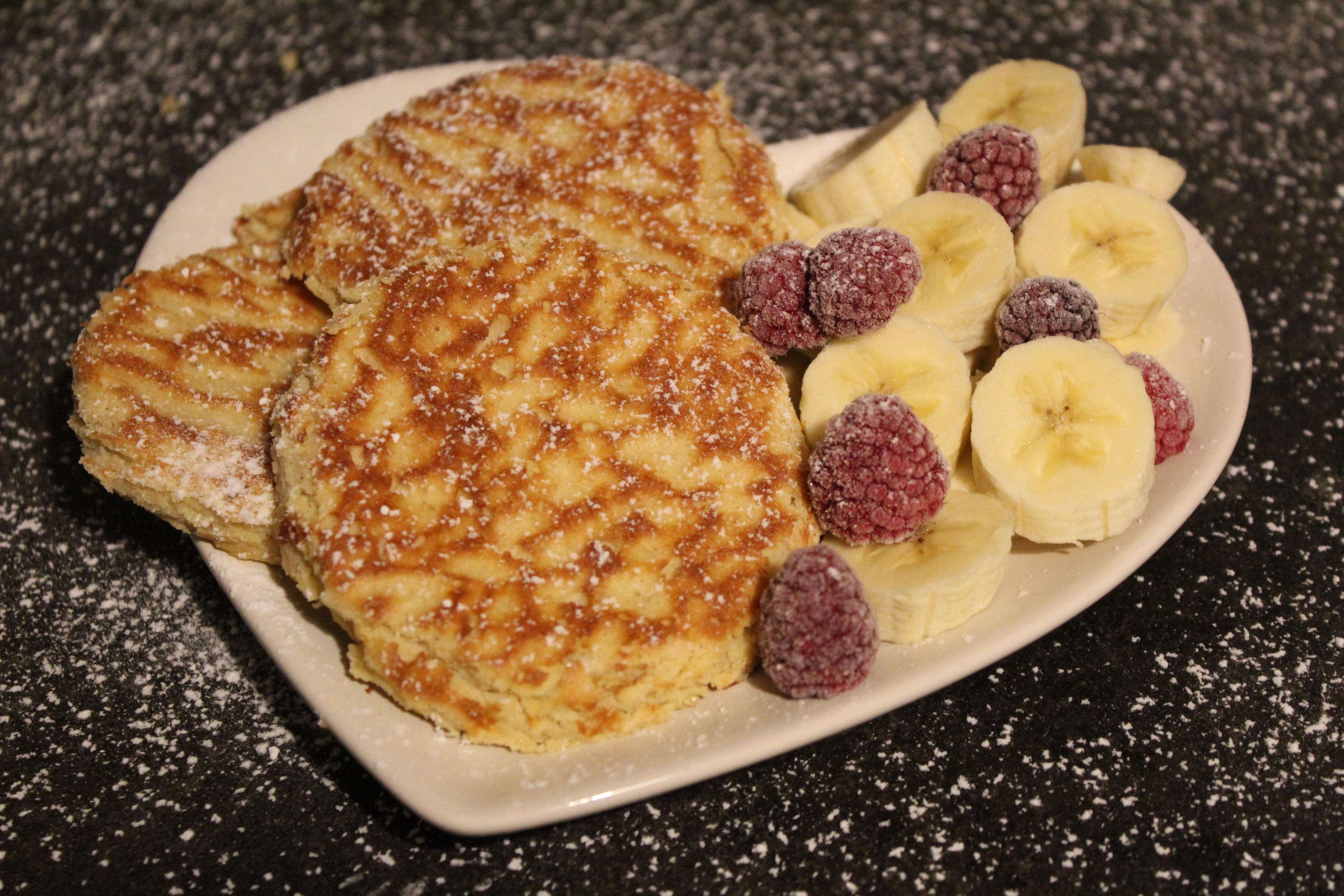 Vegane fitness Pancakes