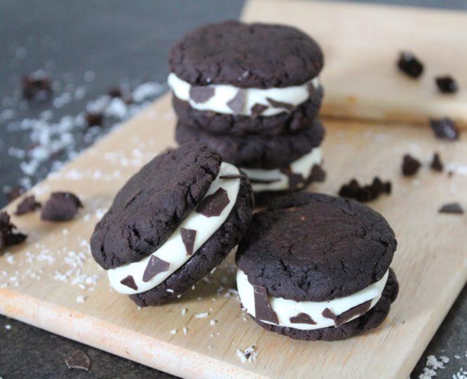 Vegane Cremecookies