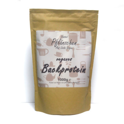 Veganes Backprotein