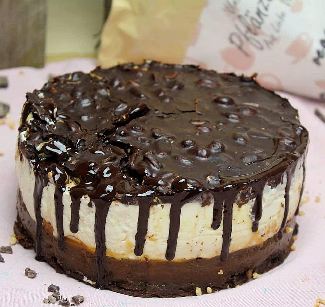 Erdnuss-Karamell Torte
