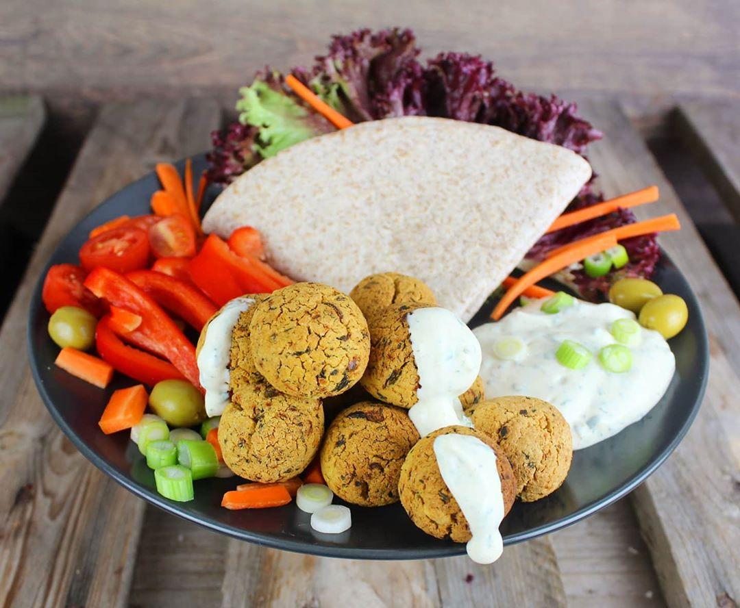 Vegane Protein Falafel